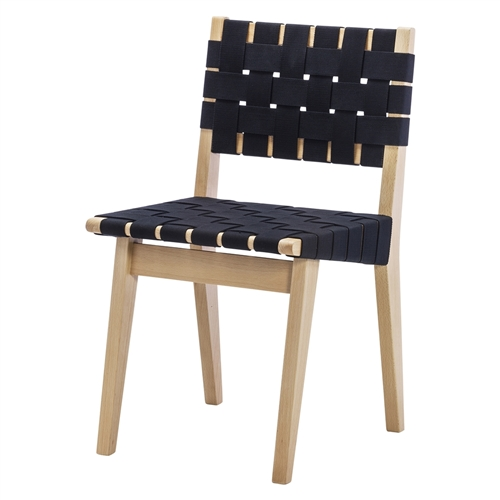 Risom Dining Chair Replica in Black