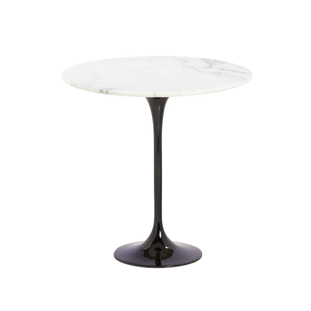 Saarinen Style Tulip Marble Side Table
