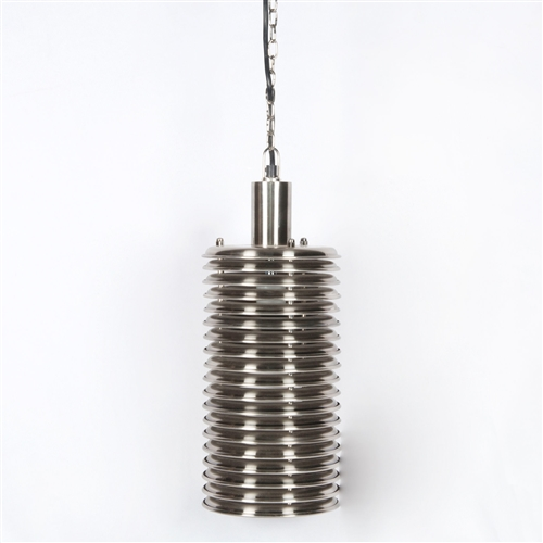 Camden Maxwell Tall Pendant in Antique Pewter