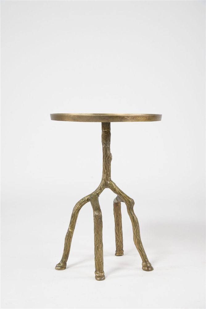 Captivating Marlow Tree Branch Side Table