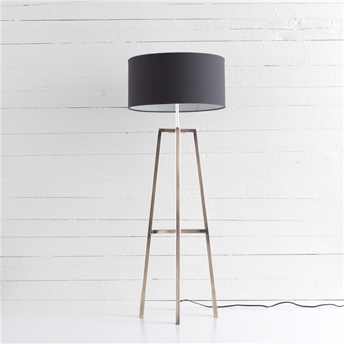 Sunset Lewis Floor Lamp in Nickel