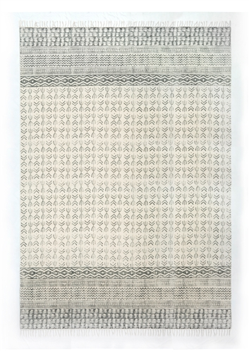 Flat-Weave Faded Stripe Rug 9' x 12'