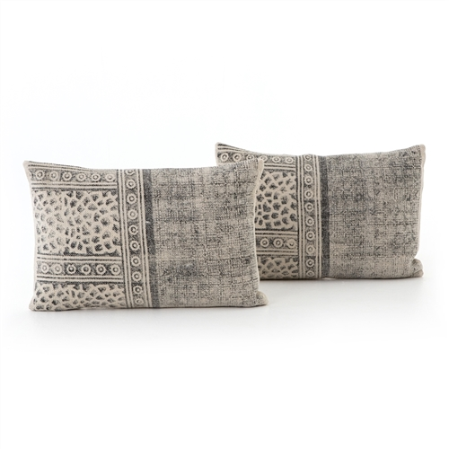 Faded Spot Print Bolster, Set of 2