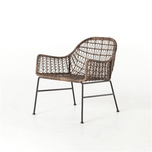 Grass Roots Bandera Outdoor Woven Club Chair