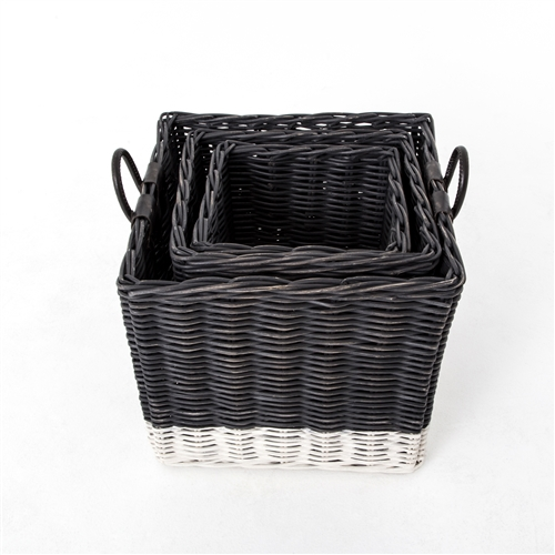 Theory Dry Black Hampers: Set of 3