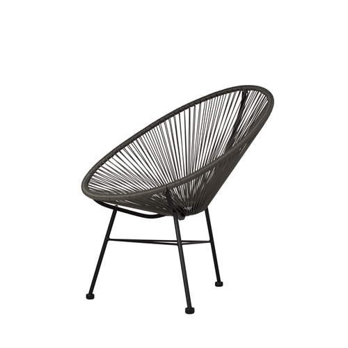 Acapulco Lounge Chair - Grey