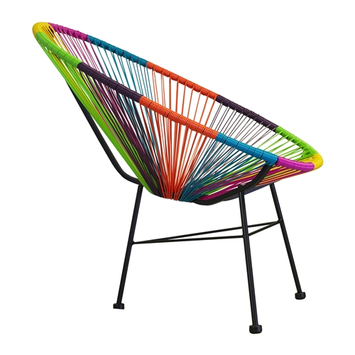 Acapulco Indoor / Outdoor Lounge Chair - Mix Color
