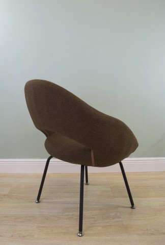 Saarinen chair brown the khazana home austin furniture