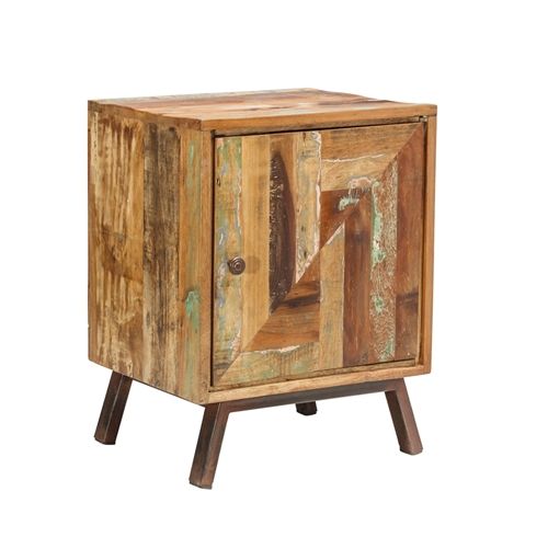 Jaipur Reclaimed One Door Side Table