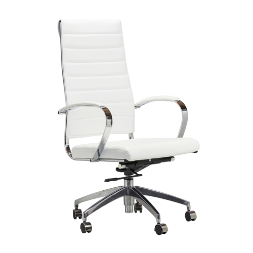 Eames Style Management Chair in White