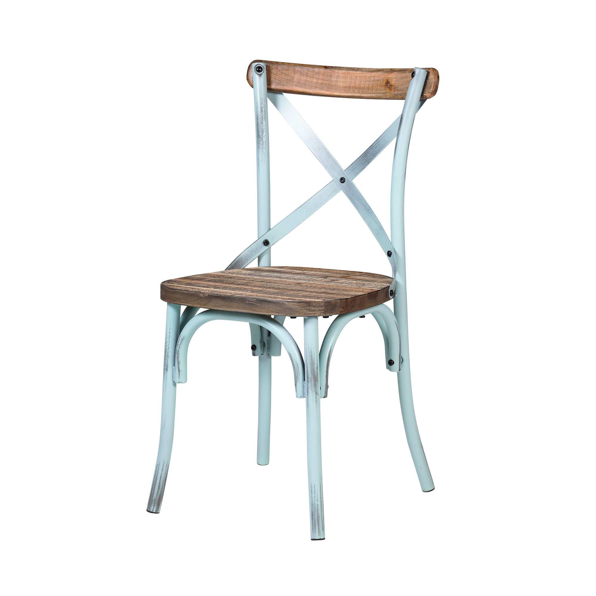 cross back dining chairs. Rustic Reclaimed Crossback Dining Chair In Sky Blue Cross Back Chairs O