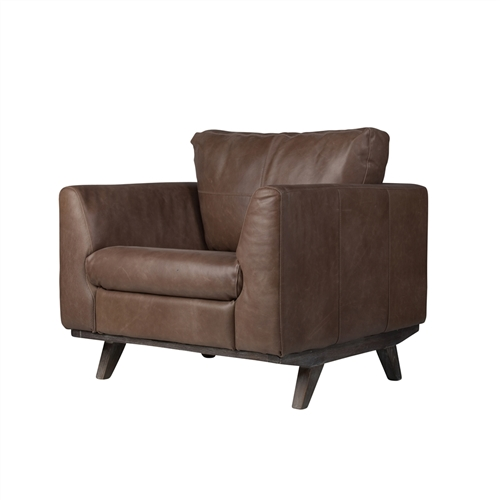 Collins Leather Arm Chair