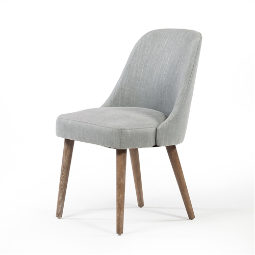 Mid Century Dining Chair - Light Moss