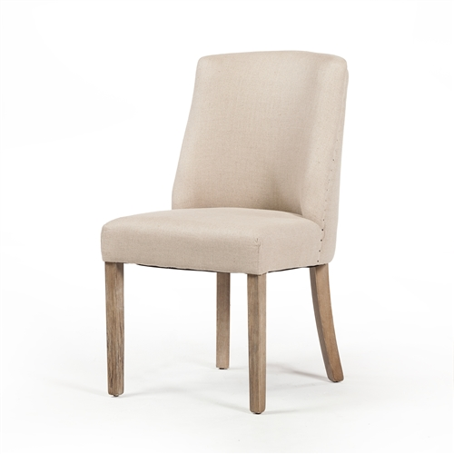Beatrix Dining Chair in Flax Linen