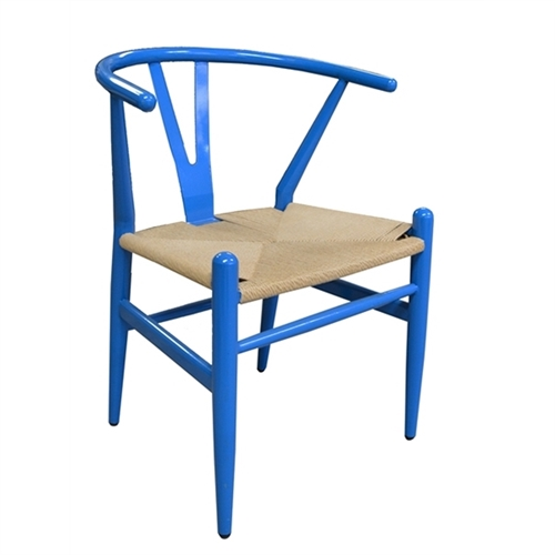Wishbone Side Chair - Blue