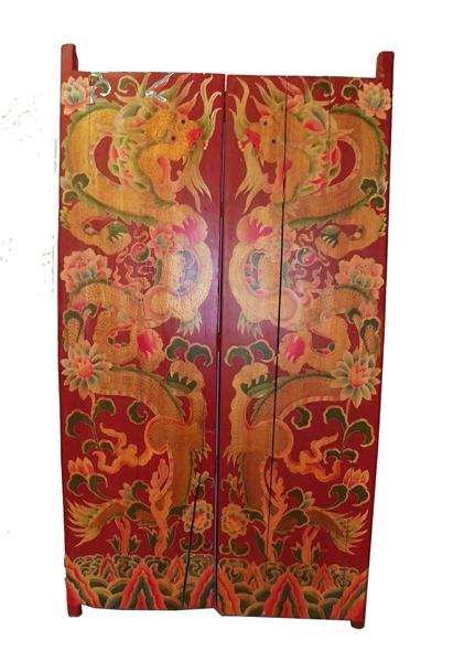Tiger Hand Painted Doors The Khazana Home Austin