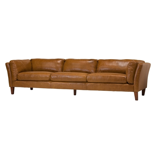 Draper 4 Seater Leather Sofa