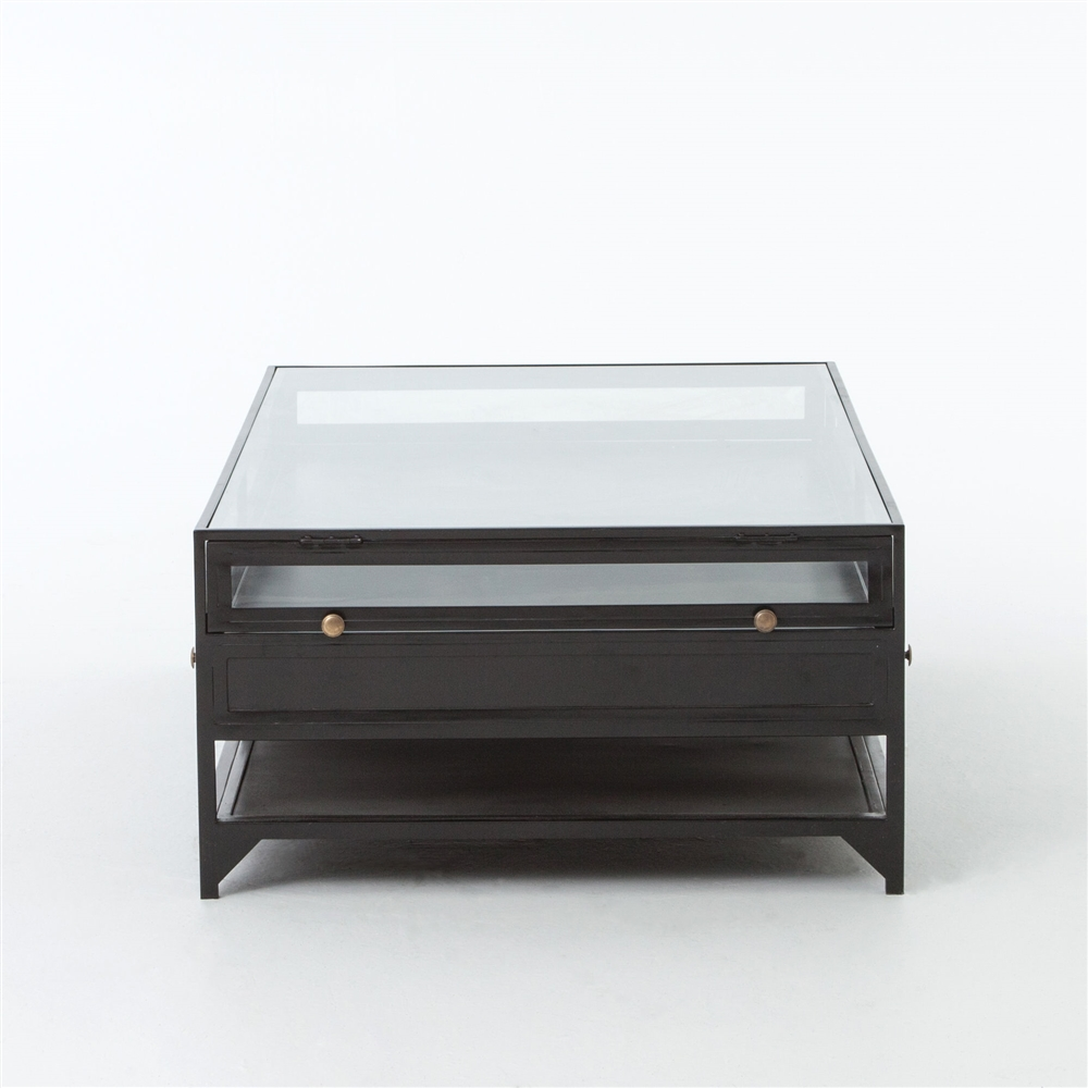 Belmont shadow box 4 drawer coffee table geotapseo Image collections
