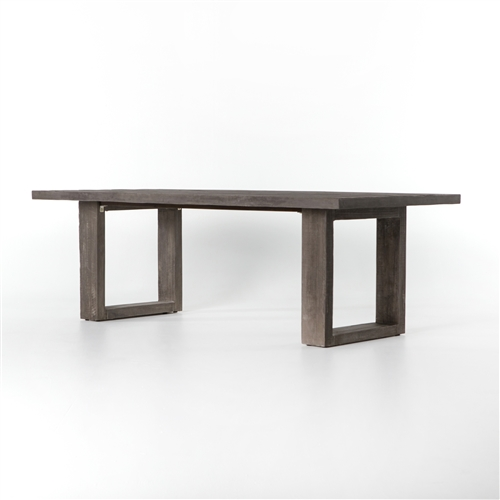 Everett Faux Bois Outdoor Dining Table