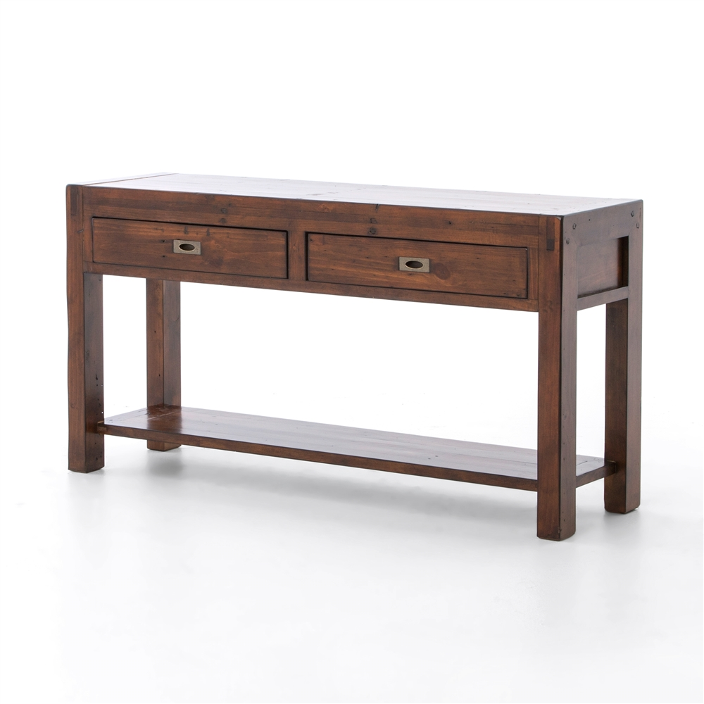 Post U0026 Rail Large Console Table In Jamaican Sunset