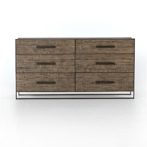 Bowery Flat Stock 6 Drawer Dresser
