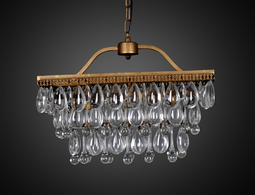 Harman Chandelier with 3 Bulbs