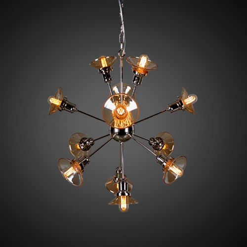 Starburst Chandelier with 12 Bulbs
