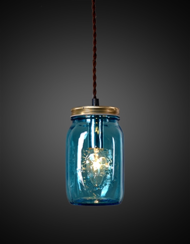 Blue Jar Pendant