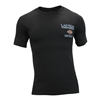 black harley-davidson skyline men's shirt