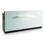 Sunrise Desk Reception Desk by Gamma & Bross Spa, Gamma & Bross Receptionist Desk, Gamma and Bross Receptionist Desk