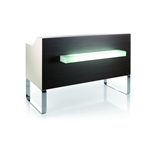 Sledesk Reception Desk by Gamma & Bross Spa, Gamma & Bross Receptionist Desk, Gamma and Bross Receptionist Desk
