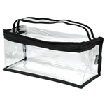 Rectangle Clear Makeup Bag - Medium - Monda Studio