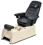Pibbs PS77P Venice Pedi Spa w/Massage and Reclinable Beige Base