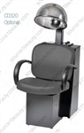 Pibbs 3669 Messina Dryer Chair - Black Steel Base