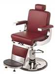 Pibbs 658 Barbiere Barber Chair w/1608 Base