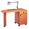 Pibbs PN1020 Laminated Straight Top Nail Table