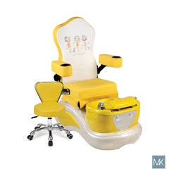 AYC My Best Friends  - Kids Pedicure Spa  SNS-KSPA-111515-YEL