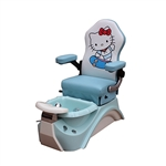 AYC Hello Kitty  - Kids Pedicure Spa  TSM-KSPA-02-BLU-KIT