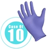 NITRILE GLOVES x 10