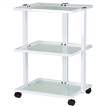 Beauty Trolley With Three Tier Glass - USA-1040