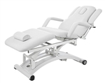 Three Motor Electric Spa Table in White