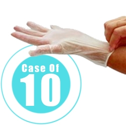 VINYL GLOVES WAX FACIAL SPA SALON MEDICAL HOSPITAL