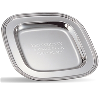 "9-1/2"" Square Award Tray"