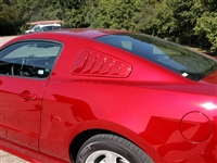 2010-13 FORD MUSTANG WINDOW SCOOPS