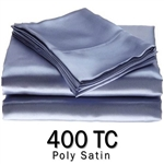 Poly Satin Round Sheet Set