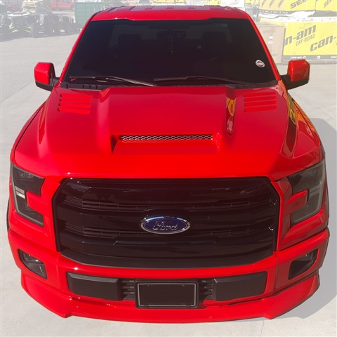 2015 Ford F150 Ram Air Hood