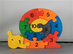 Snail Numbers Puzzle