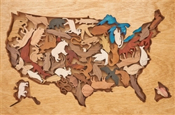 USA Wildlife Puzzle