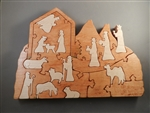 Nativity Scene & Advent Calendar