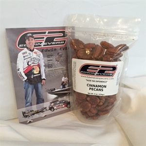 Edwin Evers Oklahoma Grown Cinnamon Pecans 8 oz.